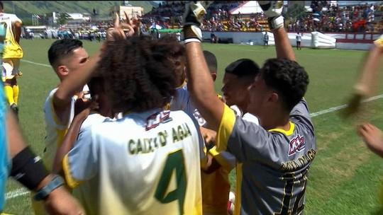 Os gols de Caixa D'Água 2 x 1 Vila Aliança pela final masculina da Taça das Favelas