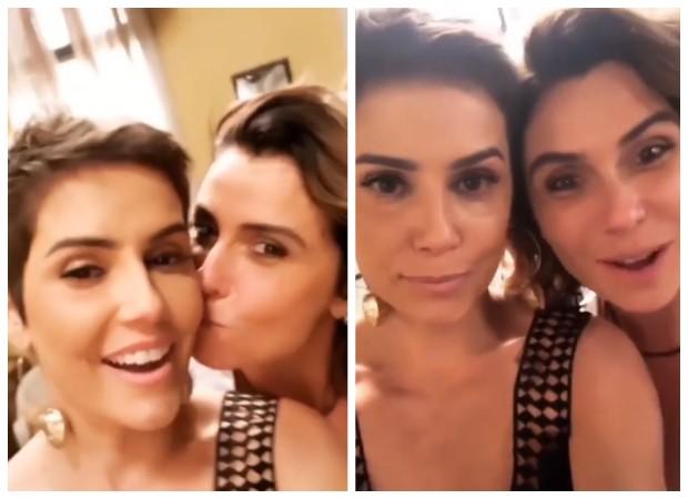 Deborah Secco e Giovanna Antonelli (Foto: Reprodução/Instagram)