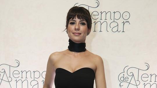 Andreia Horta celebra sucesso no cinema e nova personagem em 'Tempo de Amar'