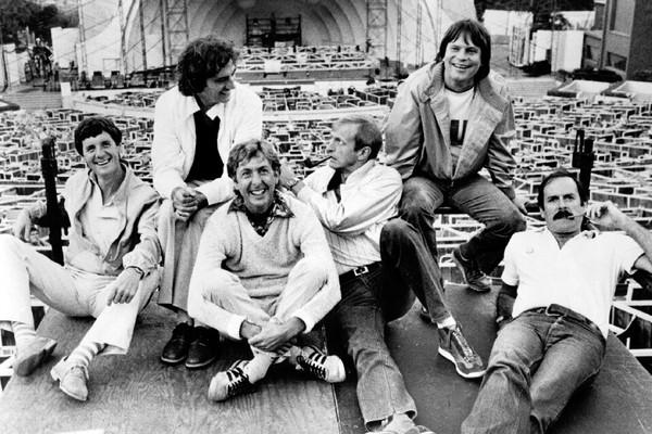 Os membros do grupo de humor britânico Monty Phyton (Foto: Getty Images)
