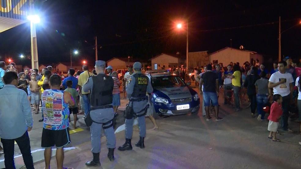 Homem é morto dentro de mercado em Sorriso (Foto: PM-MT)