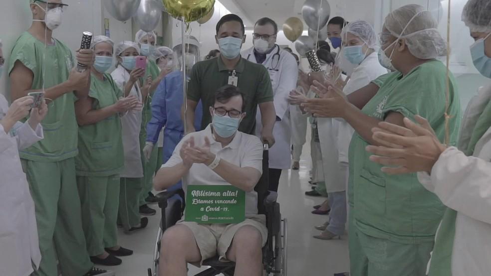 Sete cidades do Ceará têm mais de 90% de pacientes de Covid-19 recuperados — Foto: Reprodução/TV Globo