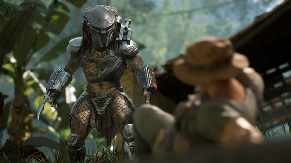 Entre os dias 27 e 29 de fevereiro assinantes da PS Plus poderão experimentar o game Predator: Hunting Grounds — Foto: Reprodução/PlayStation Blog