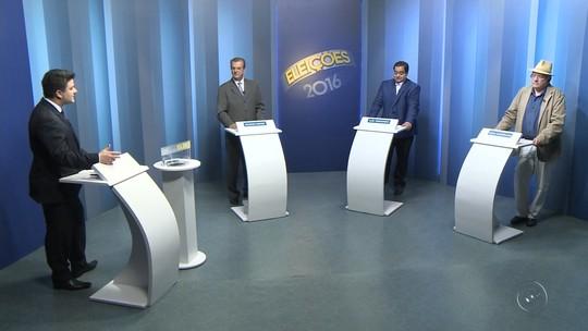 Candidatos à Prefeitura de Araçatuba falam das propostas em debate