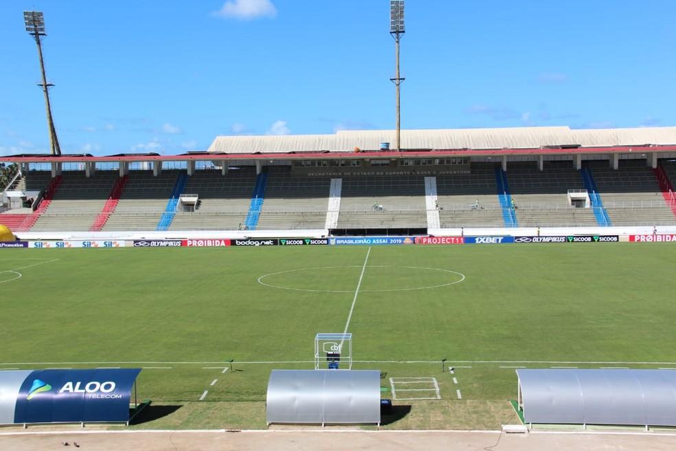 Campeonato Alagoano está suspenso por 15 dias — Foto: Denison Roma - GloboEsporte.com