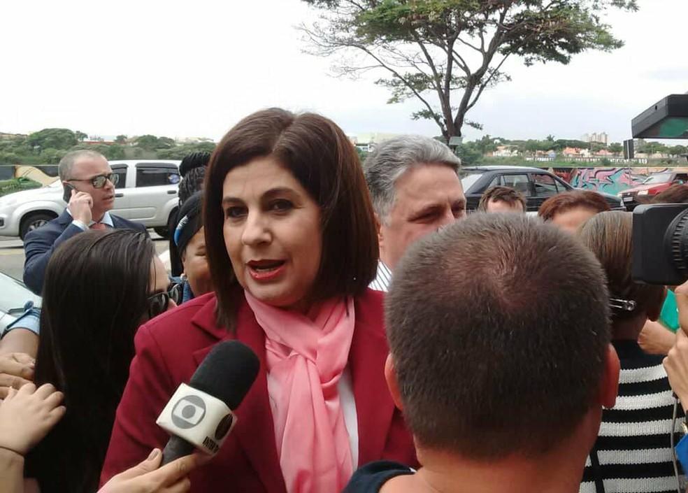 Rosinha Garotinho, ex-prefeita de Campos dos Goytacazes (RJ) — Foto: Amaro Mota/G1