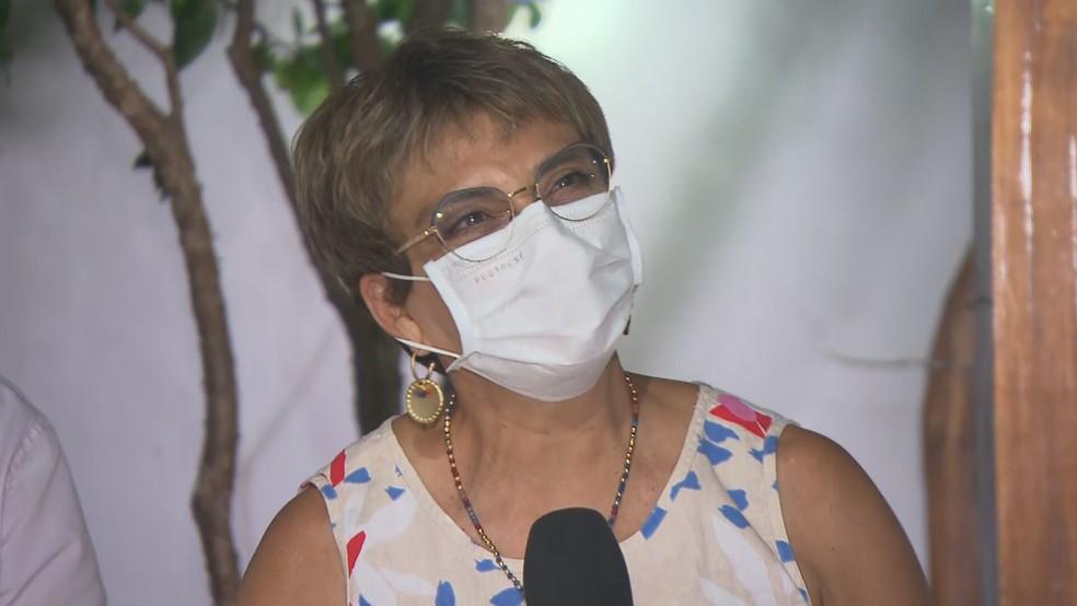 Marília Campos vence as eleições pela Prefeitura de Contagem — Foto: Reprodução/TV Globo