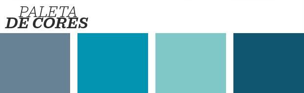 Décor do dia: Quarto em tons de azul (Foto: Reprodução)