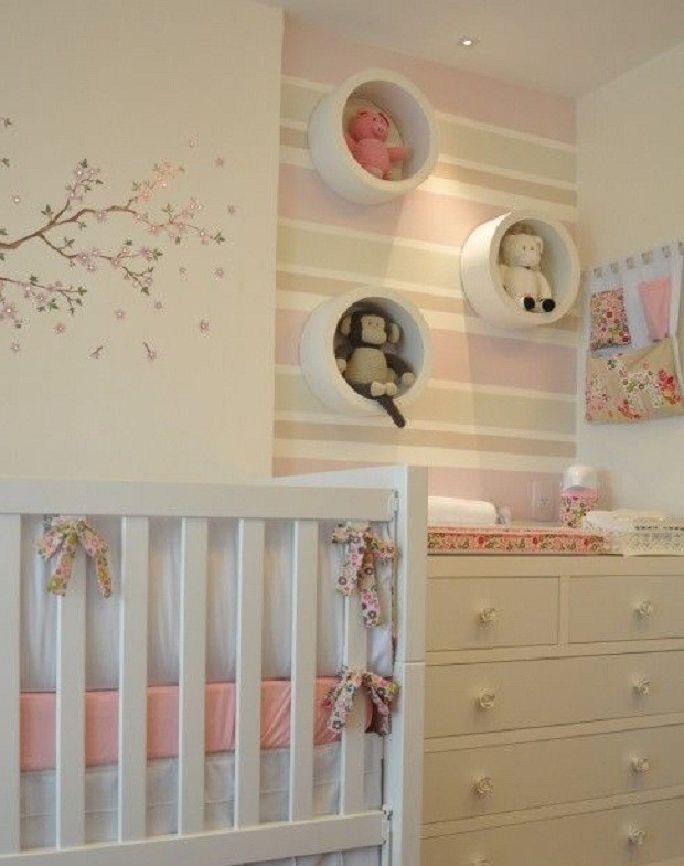 papel-de-parede-quarto-de-bebê (Foto: Pinterest)