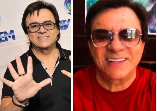 Antes e depois: Sorriso do cantor Chitãozinoh (Foto: Reprodução/Instagram)