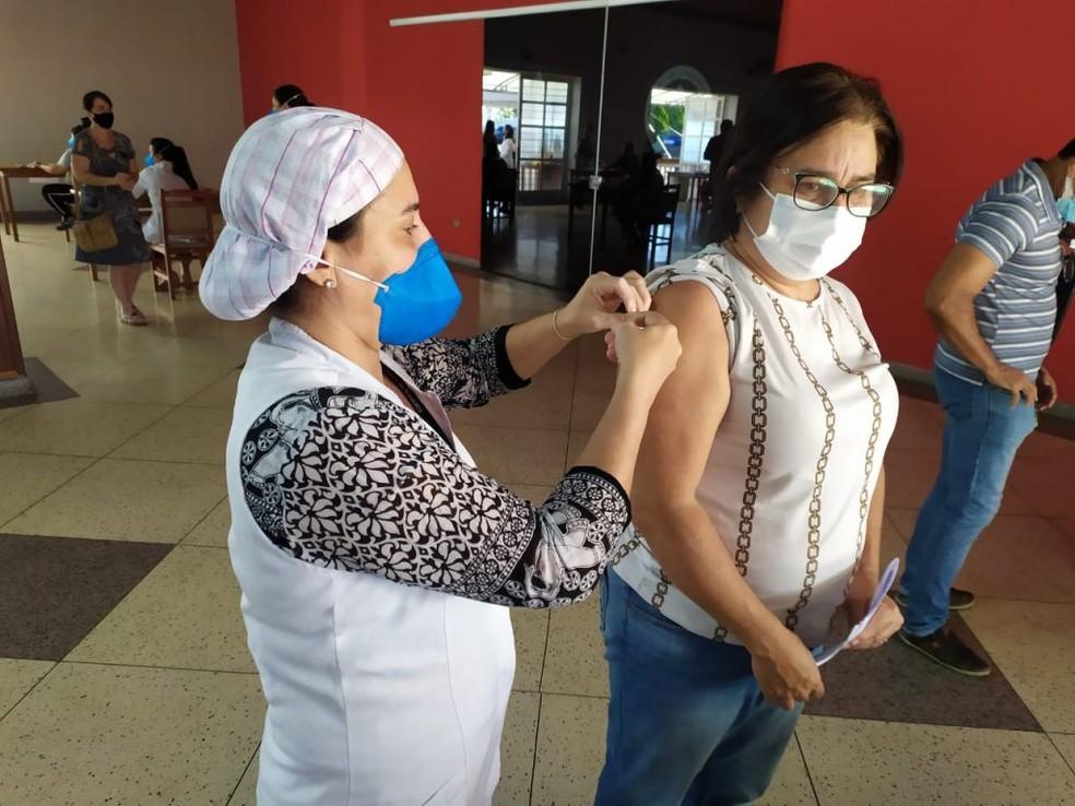 Sorocaba abre agendamento da vacinação contra Covid para novo grupo de trabalhadores da educação — Foto: Prefeitura de Sorocaba/Divulgação
