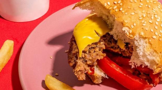 Hambúrguer vegano da Behind the Foods (Foto: Divulgação)