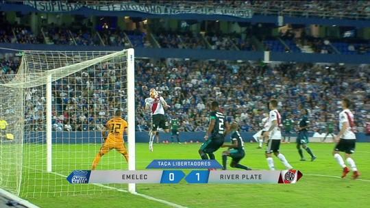 River Plate vence e se iguala ao Flamengo no topo do Grupo 4 da Libertadores