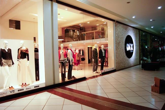 Dix Estilo, loja de roupas situada no Shopping Itaguari, em Santo Antônio de Jesus (Foto: Divulgação)