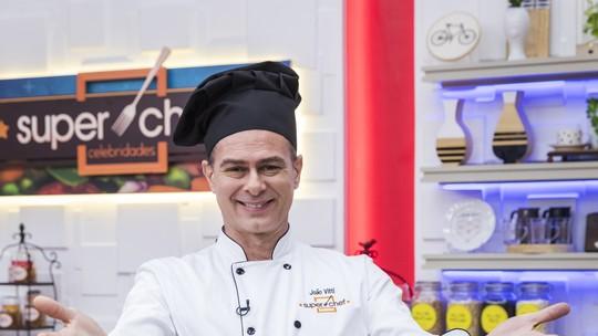 João Vitti comenta aprendizados no 'Super Chef': 'Em casa está todo mundo muito contente, saímos do lugar comum da comida'