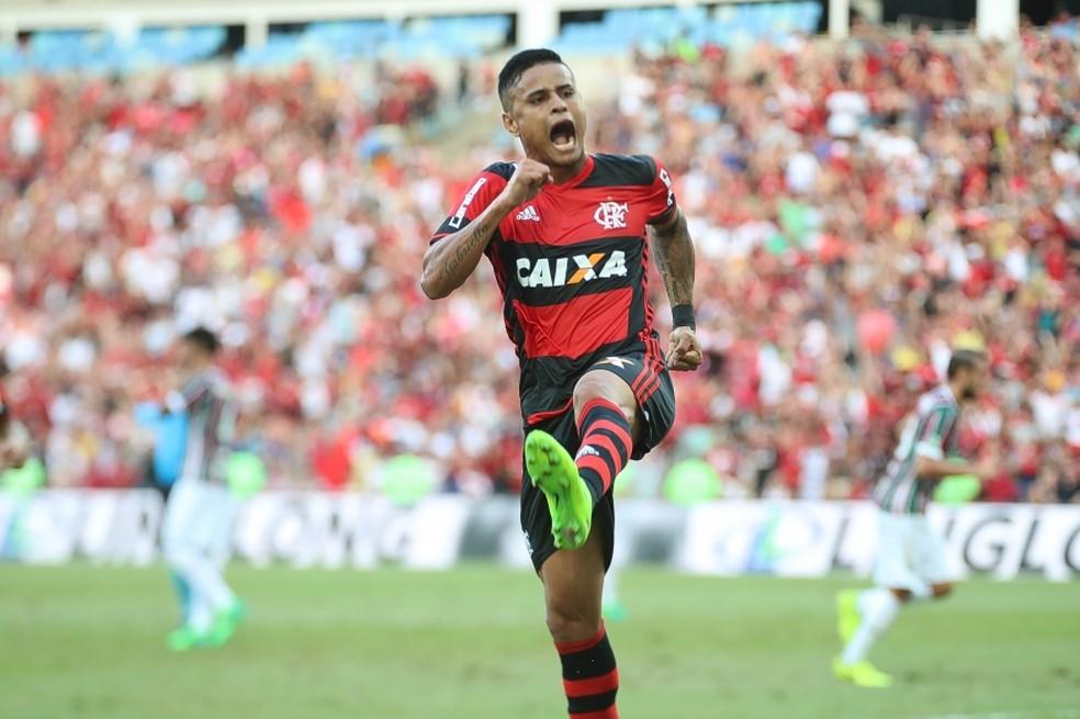 Everton era titular absoluto do Flamengo  (Foto: Gilvan de Souza)