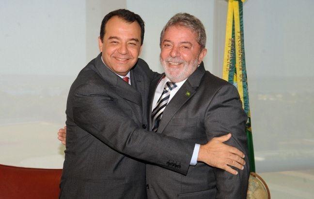 Sérgio Cabral e Lula (Foto: Divulgação)