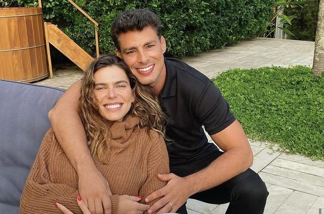Mariana Golfdfarb e Cauã Reymond (Foto: Reprodução/ Instagram)