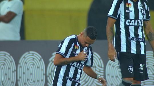 Os gols de Botafogo 1 x 1 Vasco pela 28ª rodada do Campeonato Brasileiro