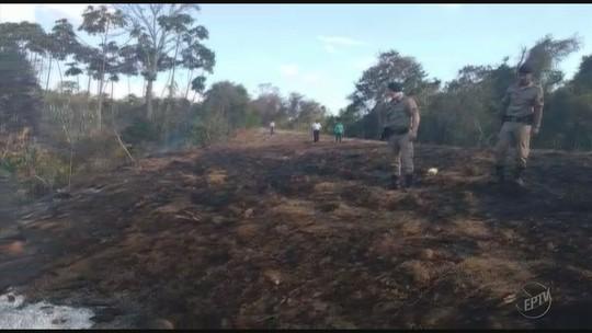 Idoso morre em incêndio na zona rural de Santana da Vargem, MG