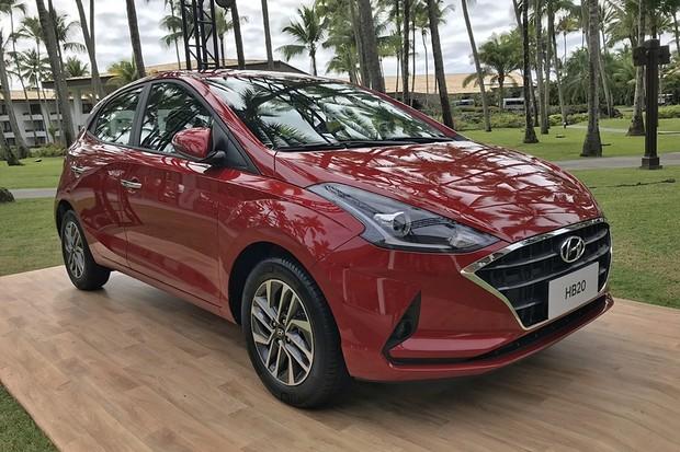 Hyundai lança o novo HB20 por R$ 46.490 (Foto: Diogo de Oliveira/Autoesporte)