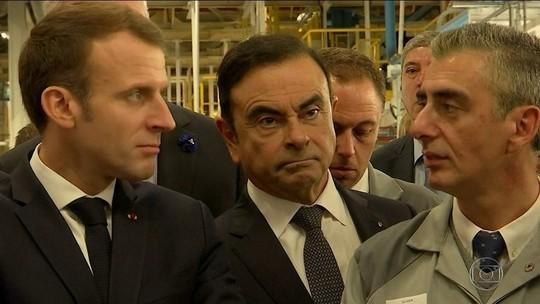 Renault nomeia 'chefe' interino, mas mantém Carlos Ghosn na presidência da empresa