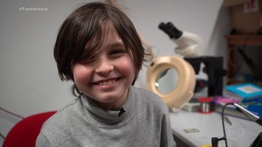 Conheça a rotina do menino de nove anos que vai se formar em engenharia elétrica