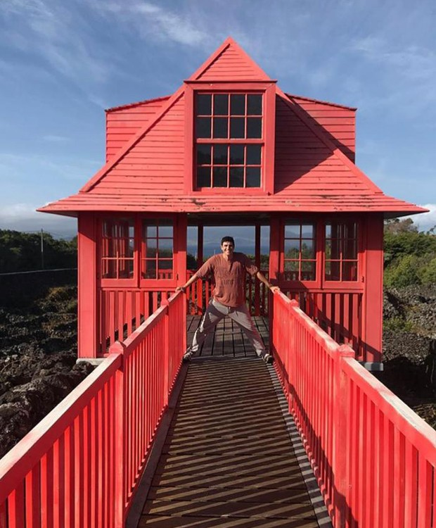 Reynaldo Gianecchini viaja para arquipélago em Portugal (Foto: Instagram/ Reprodução)