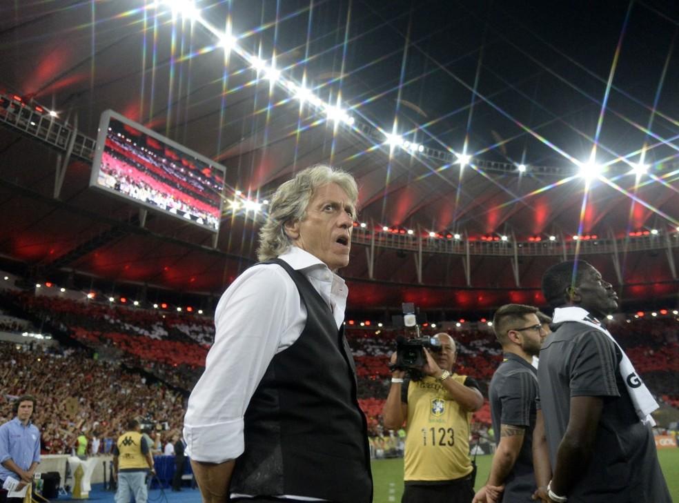 Flamengo x Ceará - Jorge Jesus — Foto: André Durão