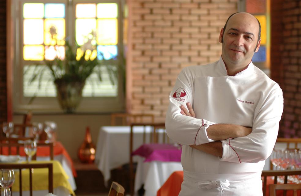 Chef pernambucano César Santos é um dos convidados do evento (Foto: Divulgação/Assessoria)