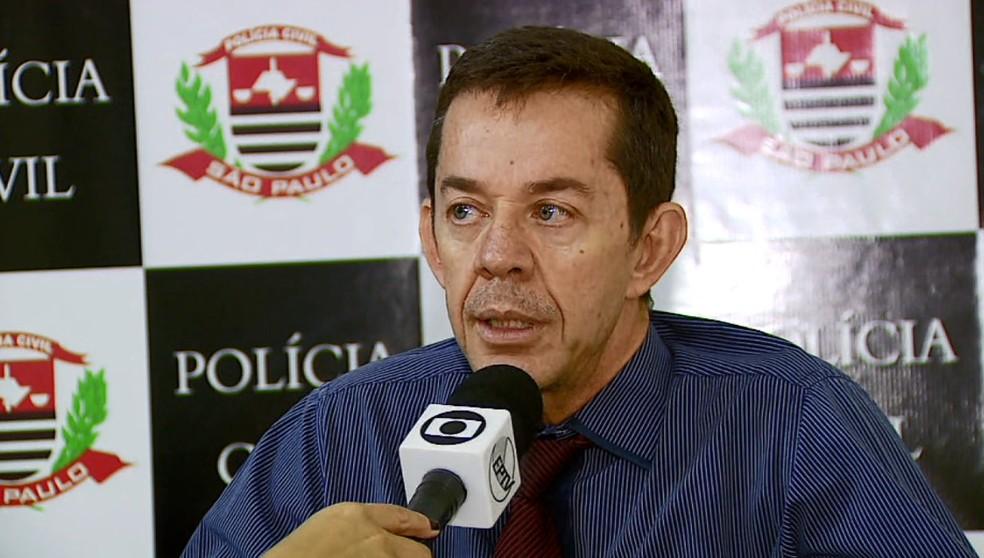 Delegado Jesus Nazaré Romão de Américo Brasiliense — Foto: Reprodução/EPTV