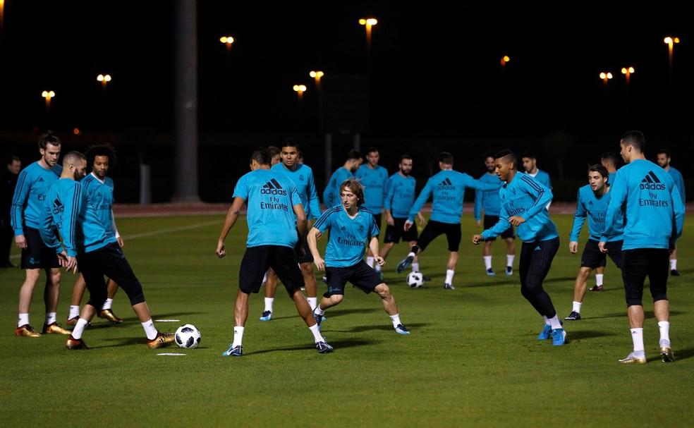 O Real Madrid é o atual campeão mundial e busca o bicampeonato consecutivo (Foto: EFE / Víctor Carretero)