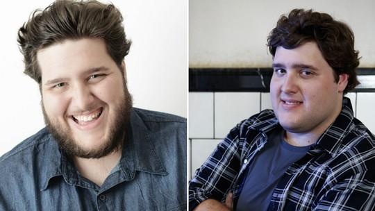 Felipe Hintze sobre quilos a mais: 'Lido muito bem com isso'