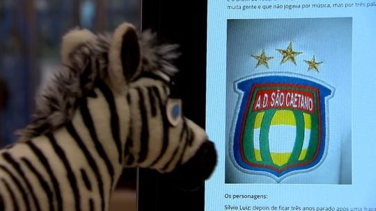 A zebra mais atrevida do futebol brasileiro