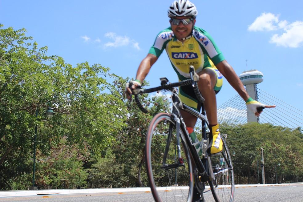 Prova de Ciclismo de Estrada em Teresina, em 2015 — Foto: Emanuele Madeira/Globoesporte.com
