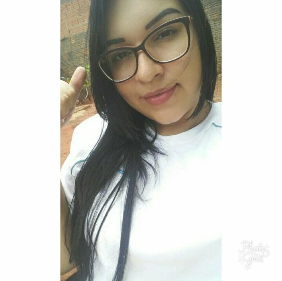 Thaays Almeida Silva foi morta pelo namorado em Diamantino — Foto: Facebook/Reprodução