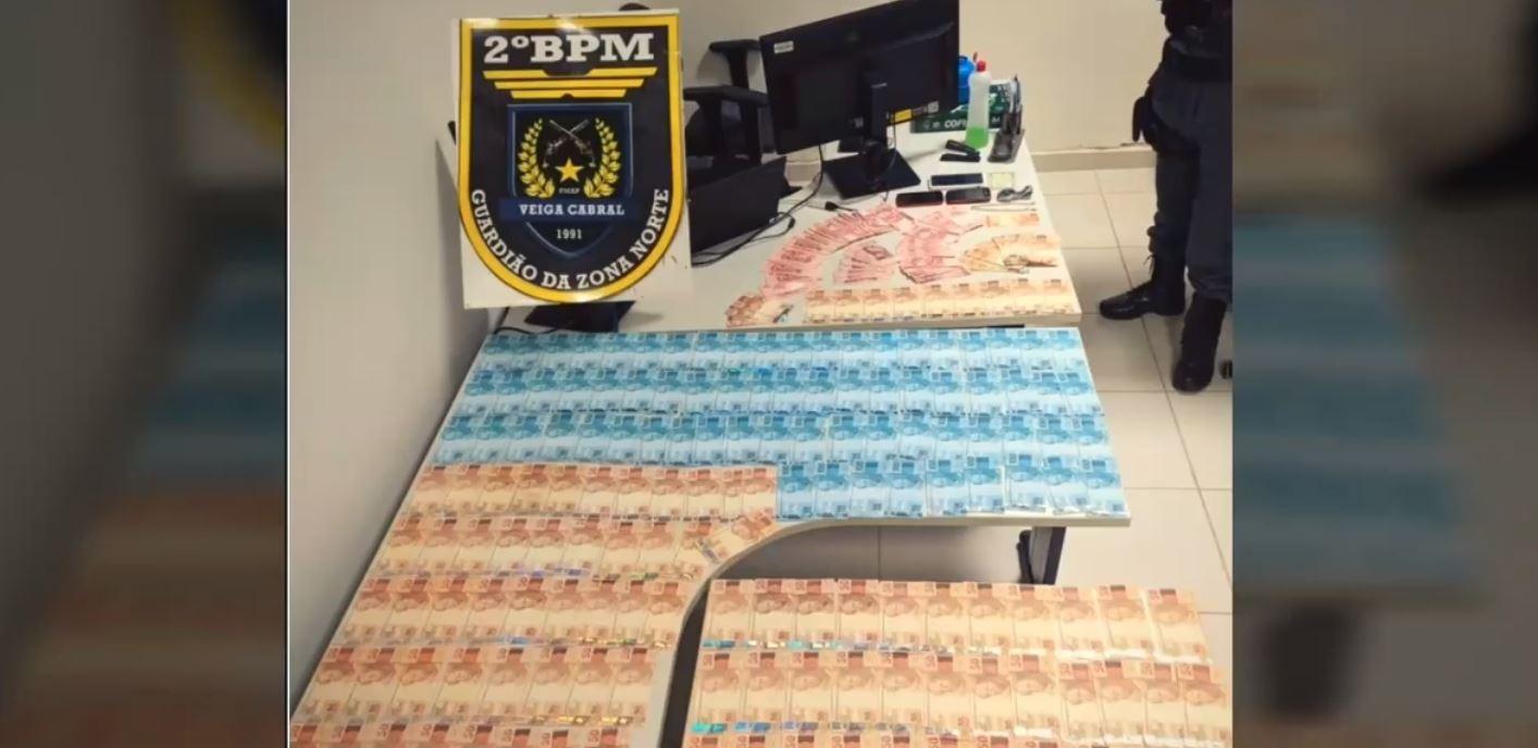 Trio é preso com drogas e R$ 18 mil em notas falsas na Zona Norte de Macapá