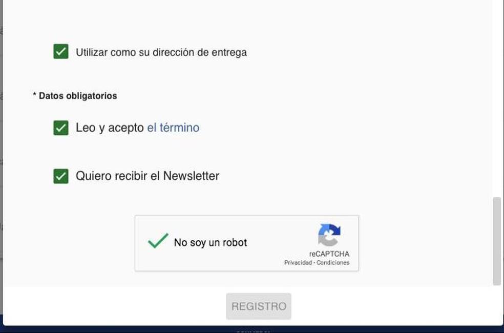 Compradores não conseguem fazer o registro no site da Copa América — Foto: Reprodução/Site oficial da Copa América