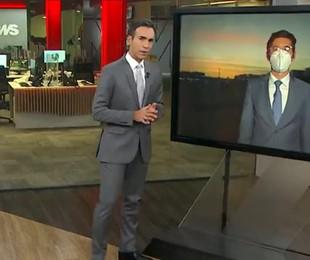 César Tralli e Nilson Klava na GloboNews | Reprodução