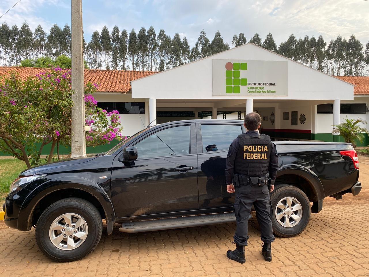 PF faz operação contra esquema que teria desviado R$ 4,8 milhões do IFMT