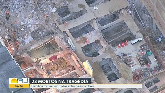 Bombeiros encerram buscas por desaparecidos na Muzema