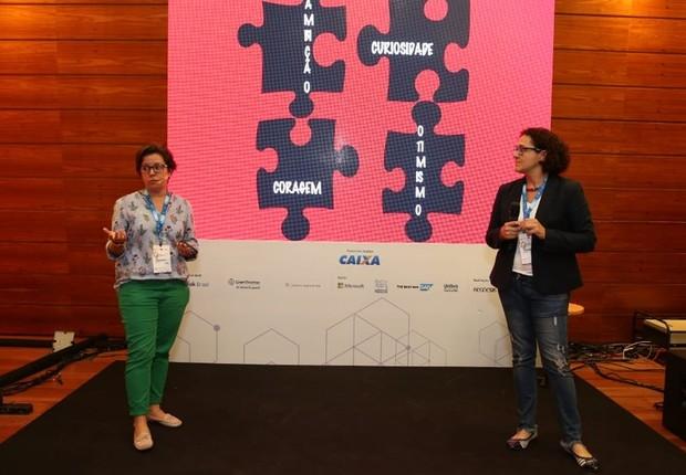 Fernanda Moura e Taciana Mello viajaram o mundo ouvindo as histórias das empreendedoras  (Foto: Alexandre DiPaula)
