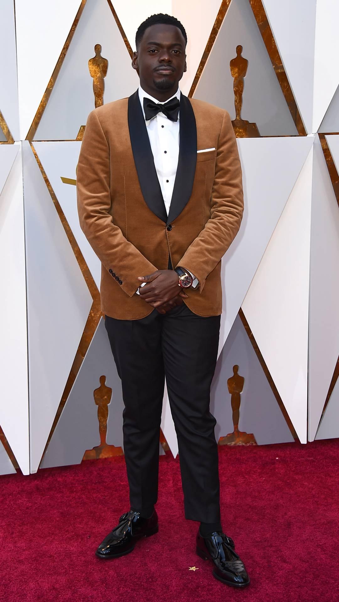 Daniel Kaluuya, indicado ao prêmio de Melhor Ator por 'Corra!', chega ao Oscar 2018