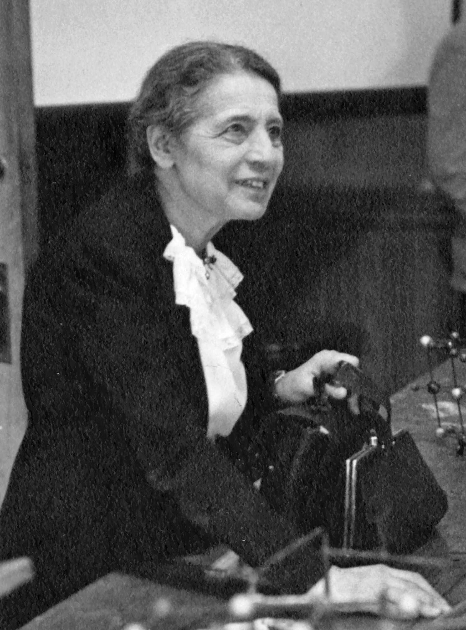 A física Lise Meitner (Foto: Smithsonian Institution/Wikimedia Commons)