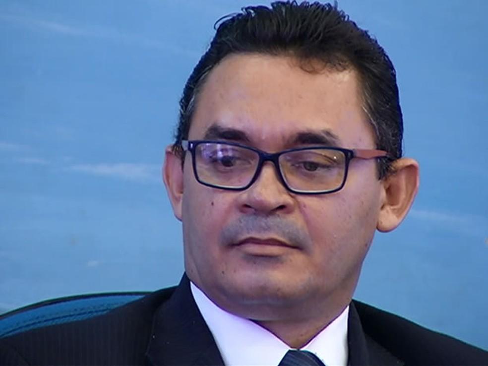 Audiência de Defesa ocorreu nesta quinta-feira na sala de comissões da Câmara de santarém (Foto: Reprodução/TV Tapajós)