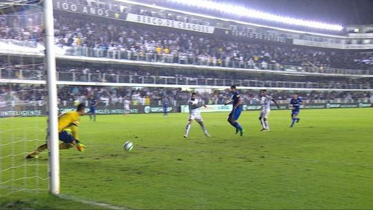 Santos x Cruzeiro - Copa do Brasil 2018 - globoesporte.com