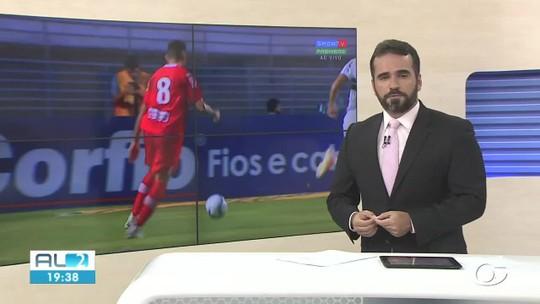 """Victor Ramos é apresentado, revela namoro antigo com CRB e avisa: """"Entrar no G-4 e não sair"""""""