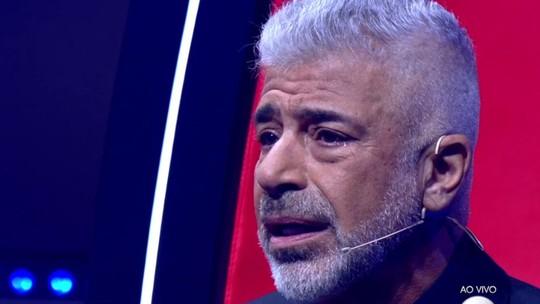 Lulu Santos chora com apresentação de Priscila Tossan e declara: 'Eu te amo'