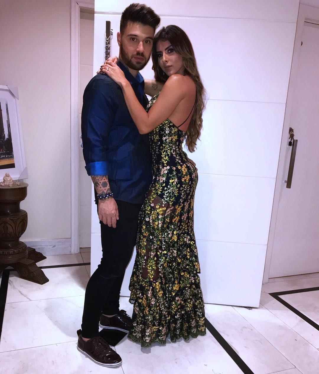 Douglas D'Amore e Thaís Bianca (Foto: Reprodução/Instagram)