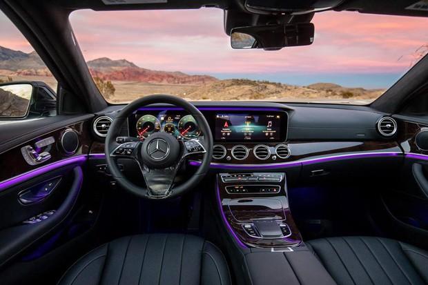 Mercedes-Benz Classe E 2021 (Foto: Divulgação)